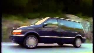 1993 - Chrysler Minivan TV Commercial