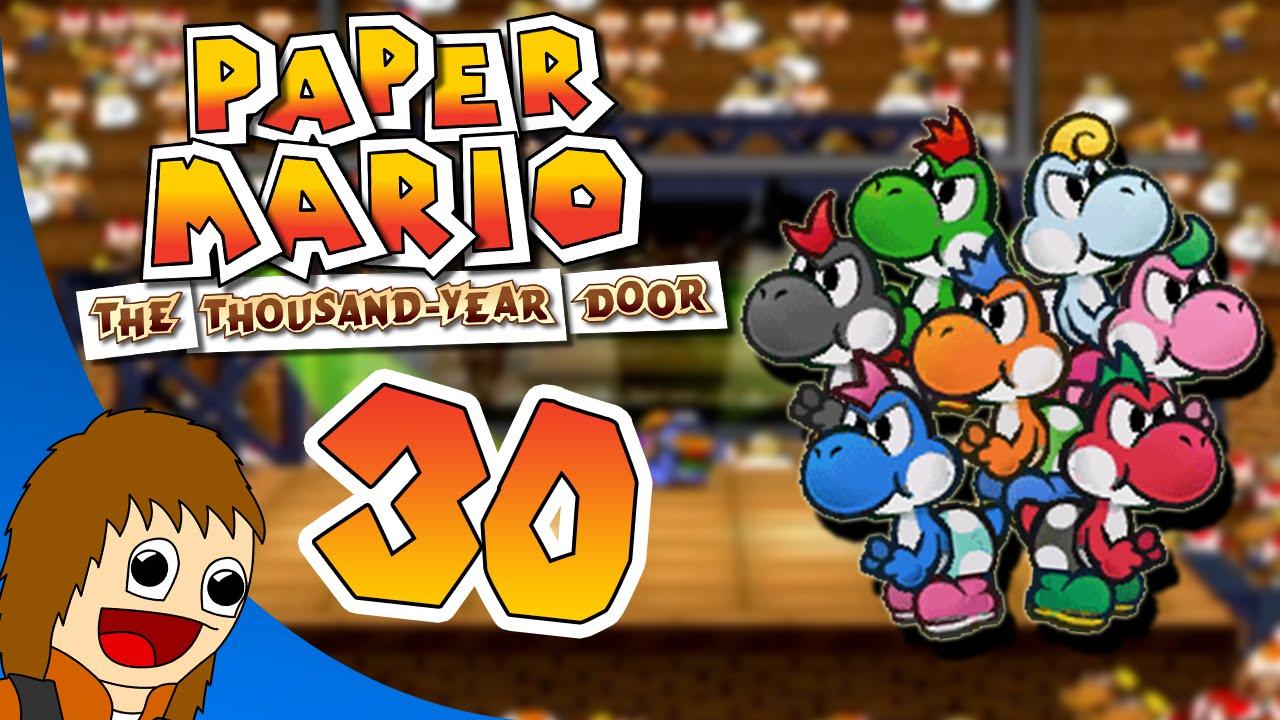Paper Mario The Thousand Year Door An Inside Yoshi