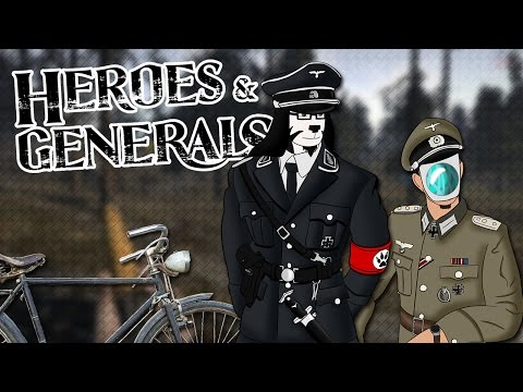 L'OFFENSIVE ALLEMANDE À VÉLO - Heroes & Generals