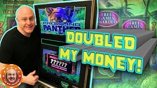 🤑HUGE PROFIT with 4 JACKPOT$! 🤑Prowling Panther Never Disappoints 🎰| The Big Jackpot