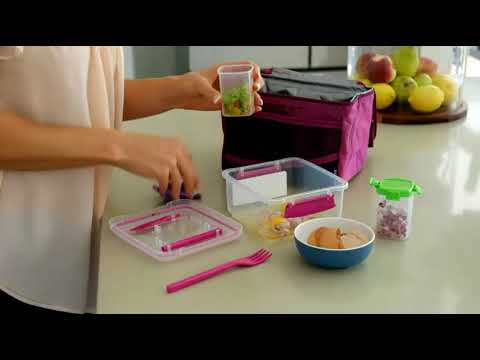 Sistema® |  Lunch On The Go with Lisa Raleigh | Veggie Scramble