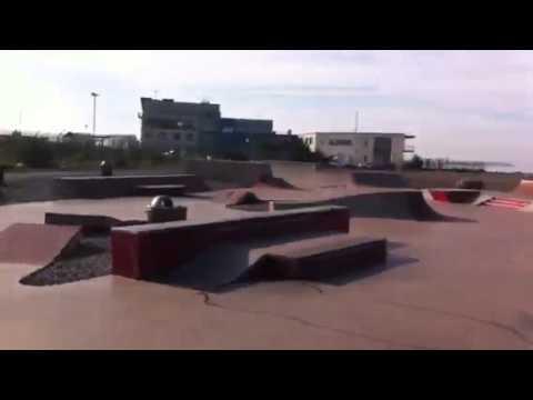 Bay skate park sesh