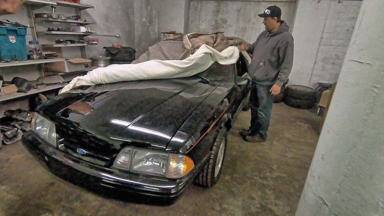 Barn finds 69 89 mustangs plus fords secret code for lightweight in a fox body