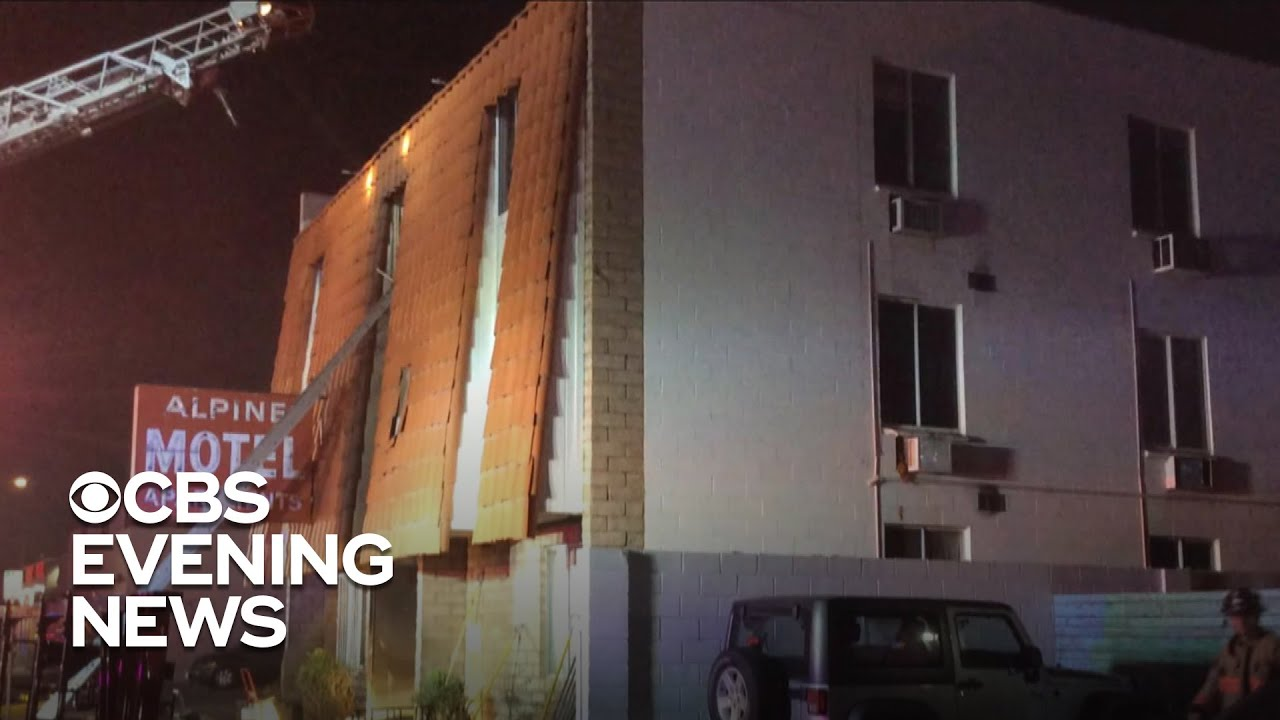 6 dead, 13 injured in Las Vegas apartment fire