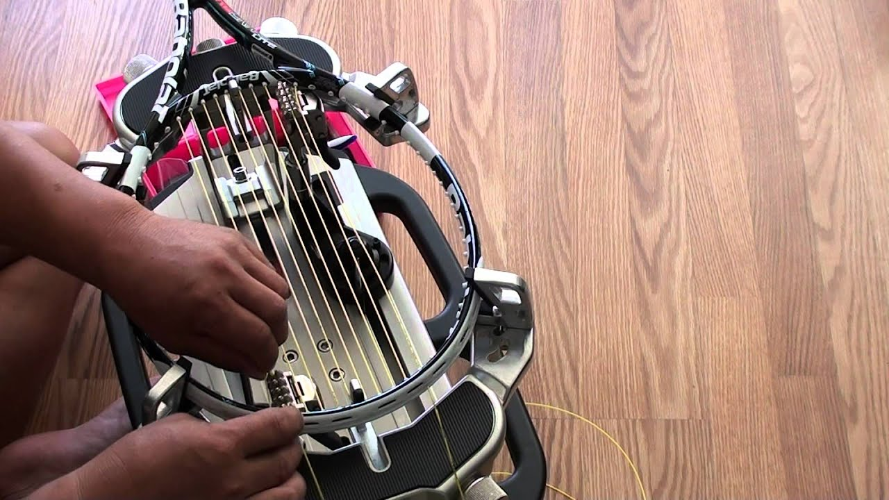 gamma progression ii els stringing machine