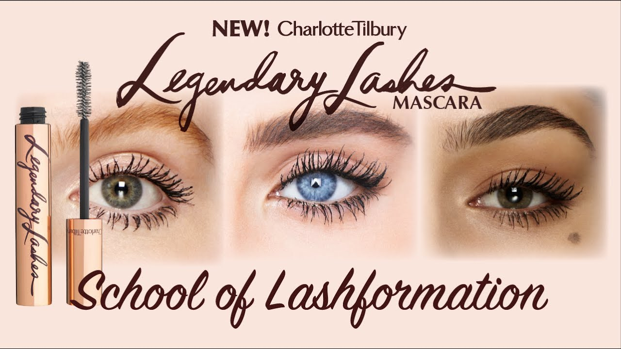 5f1a8697640 Mascara Tutorial: 3 Ways to Create Legendary Lashes | Charlotte Tilbury