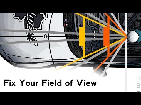 Fix Your Field of View & the Sense of Speed