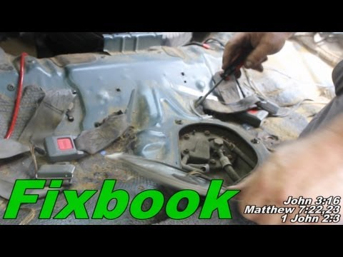 """Fuel Sending Unit Remove & Replace """"How to"""" Honda Civic - YouTube"""