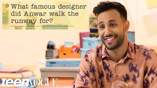 Anwar Jibawi Guesses How 1,197 Fans Responded to a Survey About Him | Teen Vogue