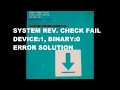 Sw Rev Check Fail Device Solution 100 Tested mp3