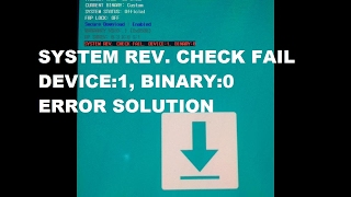 Sw Rev. Check Fail Device Solution 100% Tested