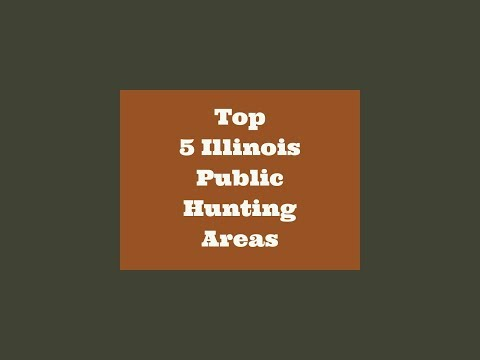 Top 5 Illinois Public Hunting Areas