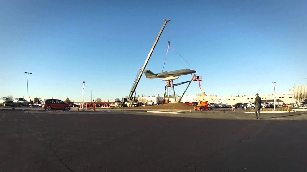 Duncan Aviation Learjet 35 Monument Youtube