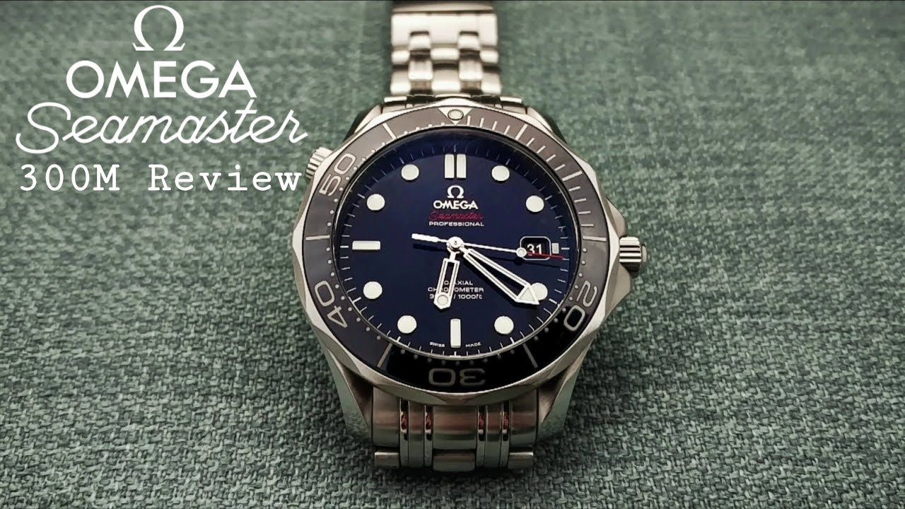 0e2c2bb30170 Omega Seamaster 300M Review - YouTube