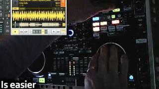 Denon DN MC-6000 Effects with Jog wheel ( + tutorial)
