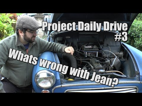 Morris Minor - Whats Wrong With Jean? - Project Daily Drive #3