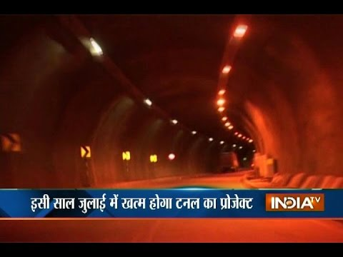 Asia's Longest Road Tunnel's Construction Underway in Chenani, Udhampur