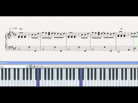 Partitura Piano El Liston De Tu Pelo Los Angeles Azules