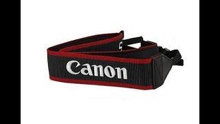 Como poner la correa a nuestra cámara Reflex / DSLR . CANON EOS 750D. ESPAÑOL