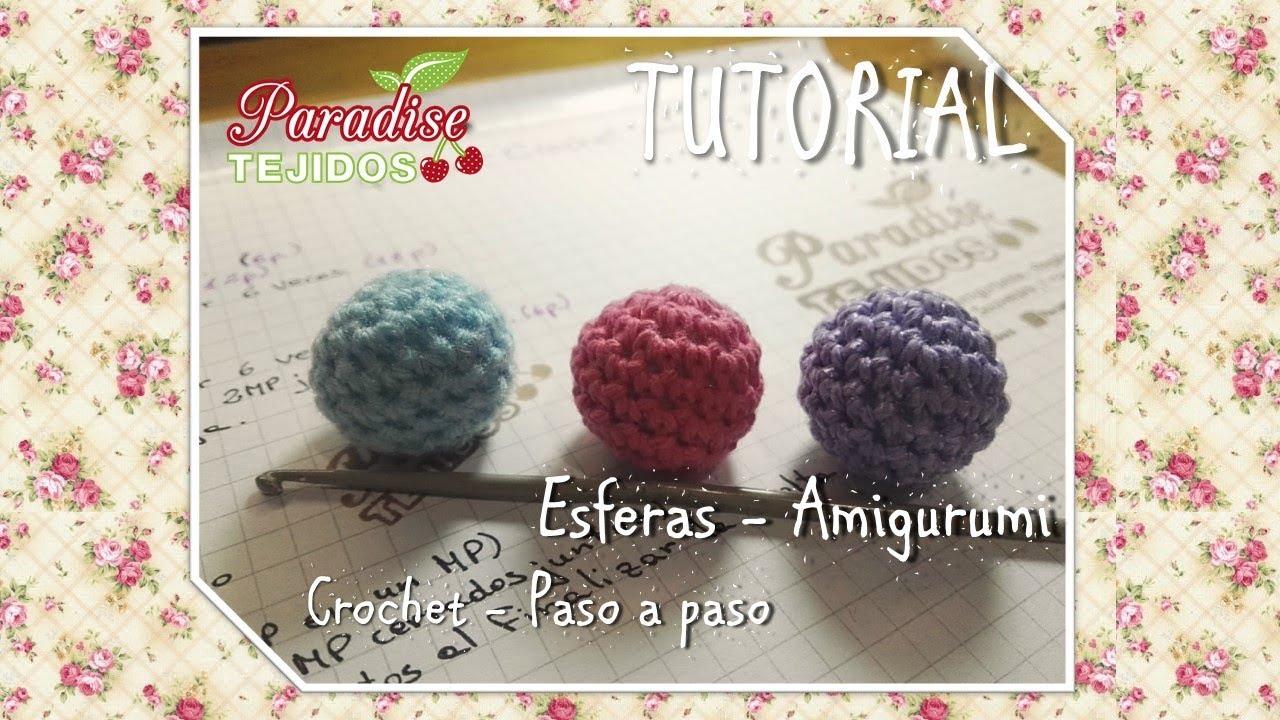 Esfera a crochet - primeros pasos en Amigurumis a ganchillo - YouTube