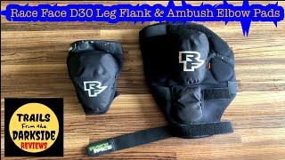 RaceFace Ambush Elbow Pad Ambush Elbow Pads LG Stealth Arm Protection