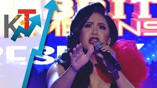 TNT Celebrity Champions Resbaker Matmat Centino sings This Is My Life