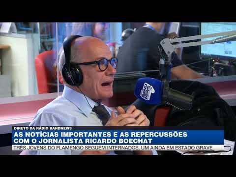 Ricardo Boechat fala sobre a sucessão de tragédias no Brasil