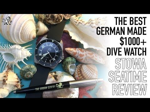 The Best Value German Automatic Dive Watch Under $1500 - The Stowa Seatime Black Review