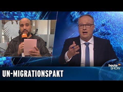 UN-Migrationspakt und rechtspopulistische Verschwörungstheorien | heute-show vom 30.11.2018