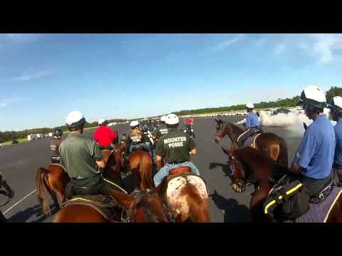 Mobile Field Force Training With Mounted Unit Integration 2013