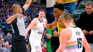 Referee got jokes on Nikola Jokic & ejected him from game | Nuggets vs Pacers