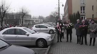 Żuromin 11.11.2018. Obchody Narodowego Święta Niepodległości. 100-lecie odzyskania niepodległości