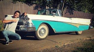 Вне времени. Как завести с толкача Ford Fairlane 1958?
