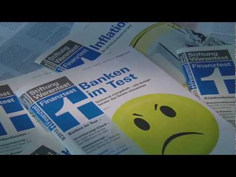 Anlageberatung der Banken Test
