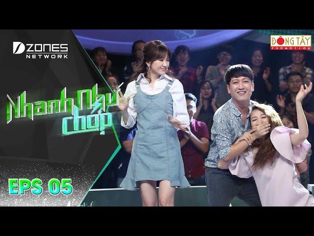 Nhanh Như Chớp   Tập 5 Full: Trường Giang - Hari Won Ra Tay Ngăn Cản Thảm Hoạ Giọng Hát Của Puka