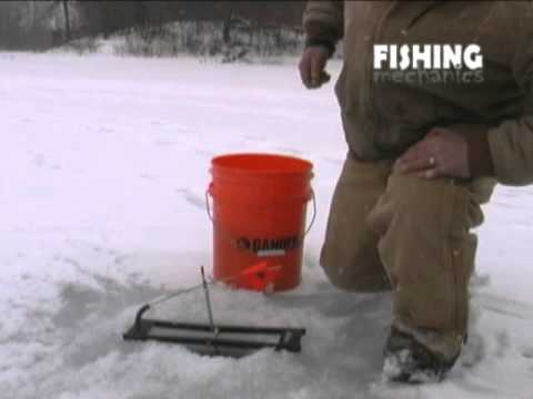 Ice Fishing With Tip Ups Youtube
