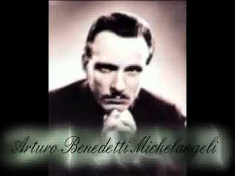 BACH Concerto Italiano - Piano: Arturo Benedetti MICHELANGELI (Old Recording)
