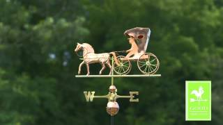 Gd548p Country Doctor Weathervane Polished Copper