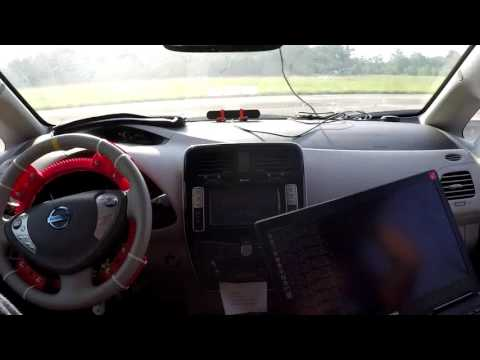 Robotic AutoDrive by CRA Lab: Turn any existing cars into autonomous driving!