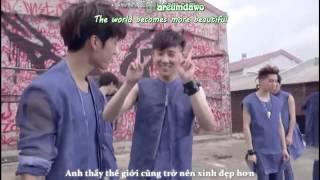 Repeat youtube video [Vietsub+Engsub+Kara] Woogyu moment - Stand by me