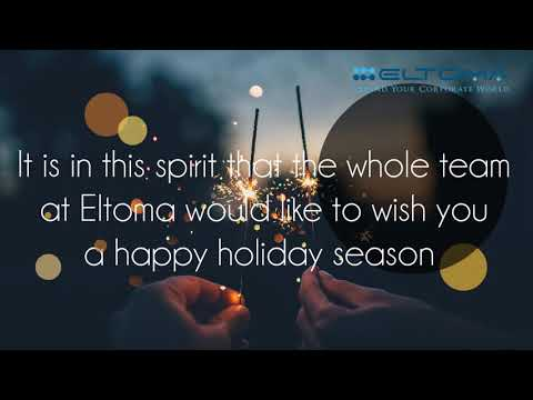 Merry Christmas And Happy New Year From Eltoma
