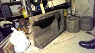 Rocket Mass Heater Batch Burner Chamber Refractory Casting