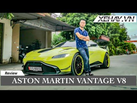 Khám phá Aston Martin Vantage V8 độ khủng của Hoàng Kim Khánh   XE HAY
