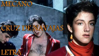 mecano cruz de navajas lyrics