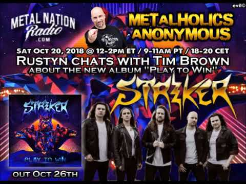 Striker's Tim Brown discusses new album Play to Win