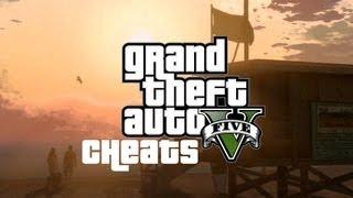 Чит коды Grand Theft Auto 5 GTA 5! XBOX 360 & PS3!