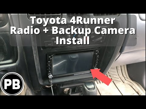 1996 - 2002 Toyota 4runner Stereo Install And Backup Camera
