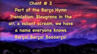 Barca / fc barcelona chants tutorial - learn the sung at camp nou barcadallas.com