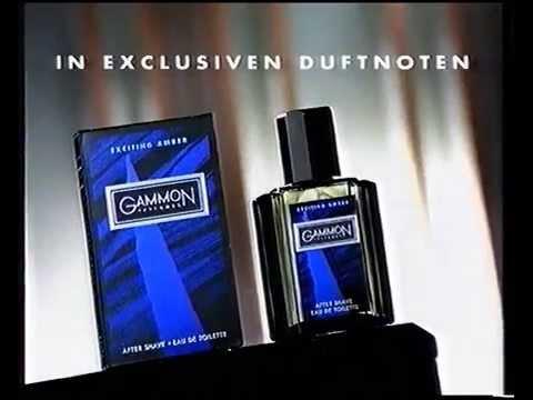 Gammon Parfume Werbung