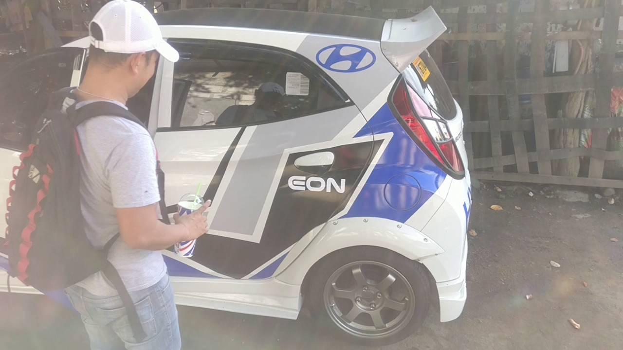 Hyundai Eon Decals Youtube
